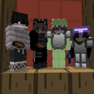 Una foto sacada con todos nuestros amigos de Kit PvP